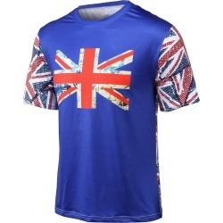 Round Neck Flag Printed Short Sleeve T-Shirt found on MODAPINS from dresslily for USD $8.39