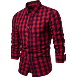 Plaid Pattern Casual Shirt found on MODAPINS from dresslily for USD $16.90