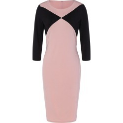 Fitted Two Tone Work Dress found on MODAPINS from dresslily for USD $13.00