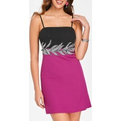 Embellished Mini Slip Dress found on MODAPINS from dresslily for USD $17.38