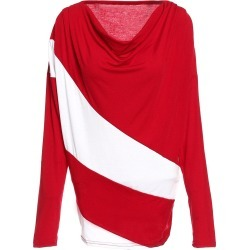 Cowl Neck Color Block Long Sleeve T-Shirt found on MODAPINS from dresslily for USD $10.55