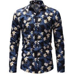 Men'S Printed Leisure Casual Shirt found on MODAPINS from dresslily for USD $21.39