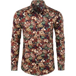 Floral Print Casual Shirt found on MODAPINS from dresslily for USD $22.62