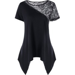 Lacy Embellished Swing Top found on MODAPINS from dresslily for USD $9.99