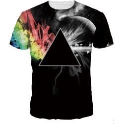 Star 3D Digital Print Short Sleeve T-shirt found on MODAPINS from dresslily for USD $20.27
