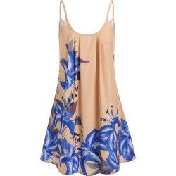 Casual Flower Mini A Line Dress