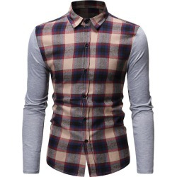 Button Up Plaid Print Casual Shirt found on MODAPINS from dresslily for USD $22.99