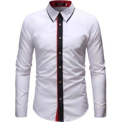 Men'S Fashion Casual Shirt found on MODAPINS from dresslily for USD $21.39