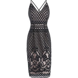 Midi Sheath Lace Dress found on MODAPINS from dresslily for USD $30.68