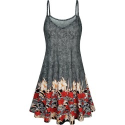 Floral Print Cami A Line Dress found on MODAPINS from dresslily for USD $16.99