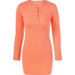 Bodycon Long Sleeve Mini Dress found on MODAPINS from dresslily for USD $11.57