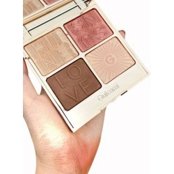 4 Colors Multi-purpose Highlighter Contour Powder Palette found on MODAPINS from dresslily for USD $17.49