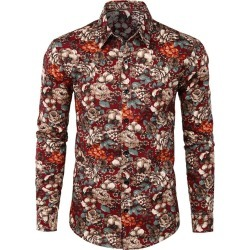 Floral Print Casual Shirt found on MODAPINS from dresslily for USD $17.99