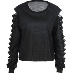 Ripped Long Sleeve T-Shirt found on MODAPINS from dresslily for USD $7.06