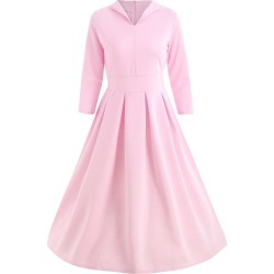 Midi Swing Dress found on MODAPINS from dresslily for USD $25.84