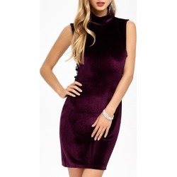 Velvet Criss Cross Zip Short Party Formal Dress found on MODAPINS from dresslily for USD $13.12