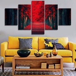 Printed Unframed Canvas Paintings