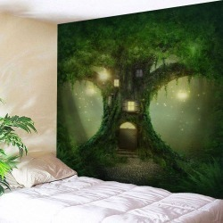 Fairy Tree Wall Hanging Tapestry Home Decoration