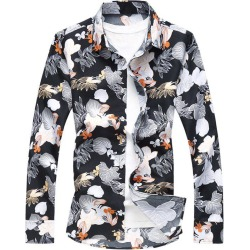 Hawaiian Flower Print Casual Shirt found on MODAPINS from dresslily for USD $21.75