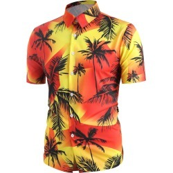 Hawaii Palm Tree Print Beach Shirt found on MODAPINS from dresslily for USD $26.99