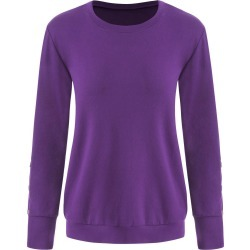 Button Long Sleeve T-shirt found on MODAPINS from dresslily for USD $20.14