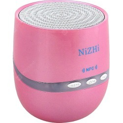 NiZhi TT026 Mini Bluetooth Speaker Support Hands-free Call/Intelligent Voice/NFC Function with LED Flashing Light