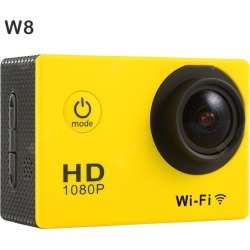 W8 1080P WiFi Sport Camera found on Bargain Bro India from gearbest for $36.47