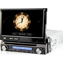 DJ7088 WCE Detachable Front Panel Car DVD Stereo Player GPS Navigation