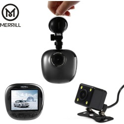 MERRiLL F2701 Dual Lens 1080P FHD 170 Degree Wide Angle Car DVR found on Bargain Bro India from gearbest for $56.86