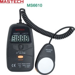 MASTECH MS6610 Digital Lux Meter