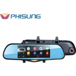 PHISUNG K09 Android 1080P FHD Car Rearview Mirror GPS