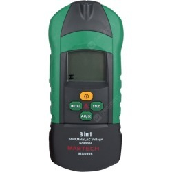 MASTECH MS6906 3 in 1 Professional ( Metal / AC / Stud ) LCD Scanner with Baclight / Scan Button