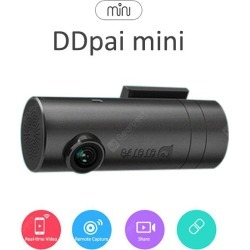 DDpai mini WiFi 140 Degree Angle 1080P Full HD Car DVR found on Bargain Bro India from gearbest for $70.27