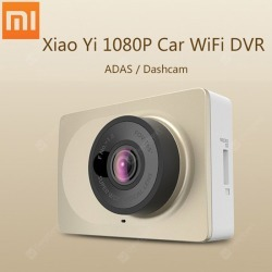 Original Xiaomi Yi 1080P Car WiFi DVR CN Version found on Bargain Bro India from gearbest for $70.11
