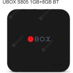 U BOX TV Box 2.4G WiFi Bluetooth
