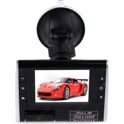 K8000 1080P FHD 140 Degree Wide Angle Car DVR found on Bargain Bro India from gearbest for $28.37