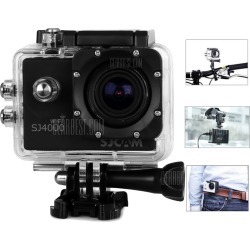 SJCAM SJ4000 WiFi IP68 Waterproof 1080P FHD 1.5 Inch LCD Car DVR Action Camera Sport DV with Car Charger and Bracket found on Bargain Bro India from gearbest for $78.92