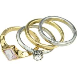 Gorgeous Rhinestone Geometric Wedding Jewelry Rings