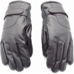 Outdoor Unisex Cold-proof Thermal Warm Touch Screen Velvet Leather Gloves