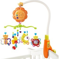 Bell Music Rotation Newborn Baby Toy title=