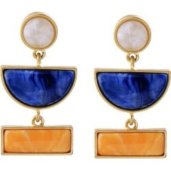 Geometric Faux Gem Drop Earrings found on Bargain Bro Philippines from rosegal for $3.77