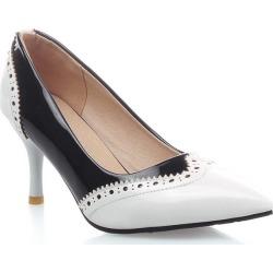 Miss Shoe'S ASCP1618 Stiletto Heel Fashion Single Shoe