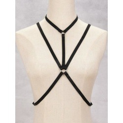 Geometric Harness Bra Bondage Body Jewelry found on MODAPINS from rosegal for USD $3.46