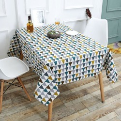 Triangle Pattern Table Cloth