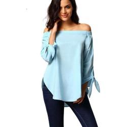 Women'S Fashion Slim Thin Collar Collar Plus Size Shirt