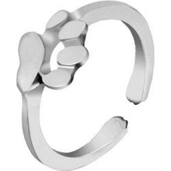 Dog Paw Embellished Finger Ring