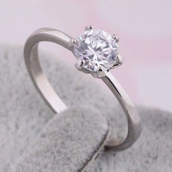 Fake Diamond Wedding Ring