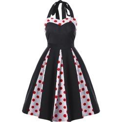 Small Polka Dot Swing Dress