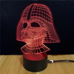 Shining Td054 Star Wars Darth Vader Shape 3D Lamp