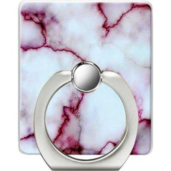Marble Pattern Pattern Cell Phone Ring Stand Holder for Phone